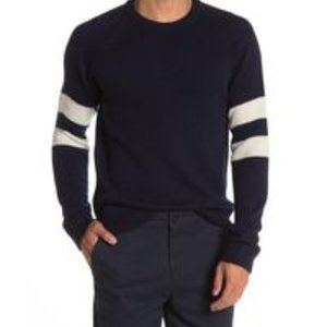 Slate & Stone pullover navy blue sweater NEW
